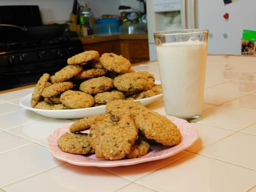 Crack Cookies and Milk